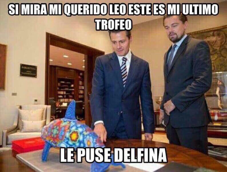 Memes de la reunión de Enrique Peña Nieto con Leonardo